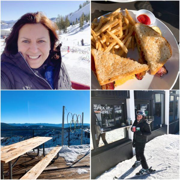 skiing in california luxury travel road trip north lake tahoe squaw valley starbucks ski in ski out