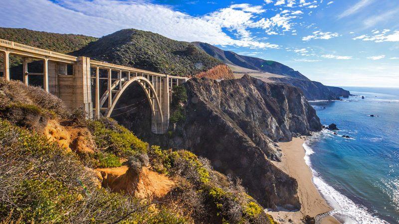 bixby bridge visit california