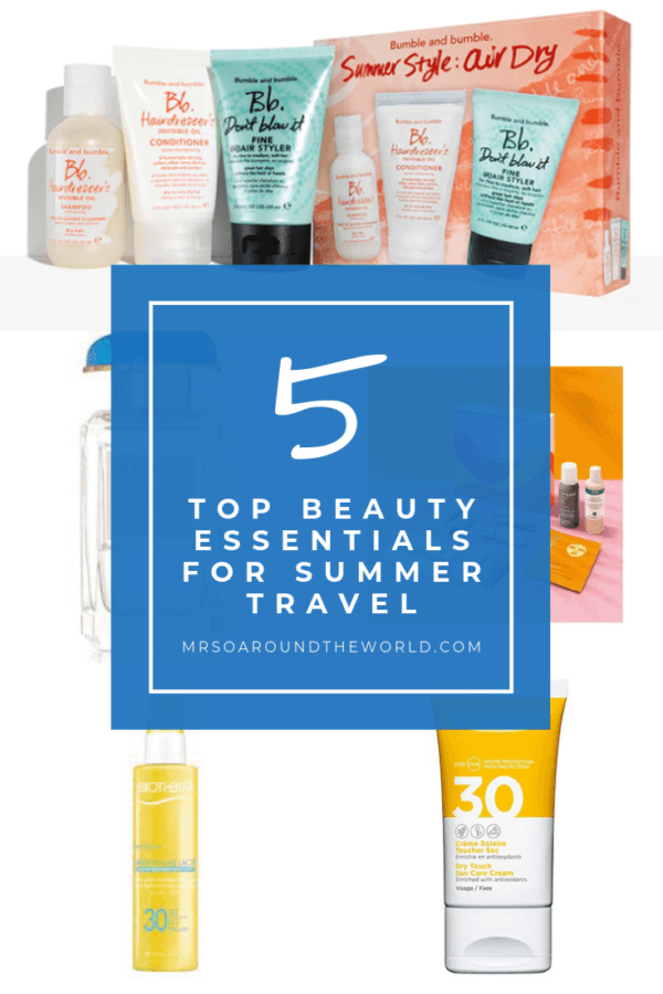 Beauty Essentials for Summer skincare