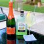 limoncello spritz recipe summer cocktails glass taittinger champagne