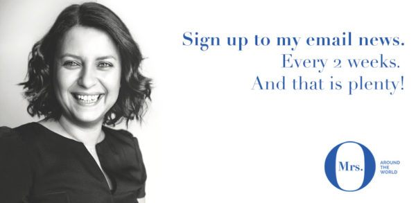 mrs o around the world luxury blogger newsletter sign up