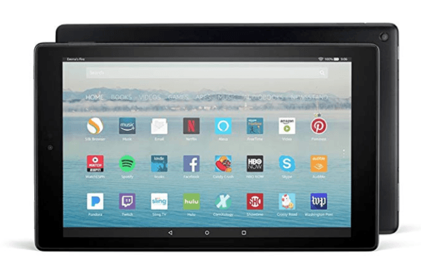 amazon fire 10 hb tablet without speical offers travel tech gadgets