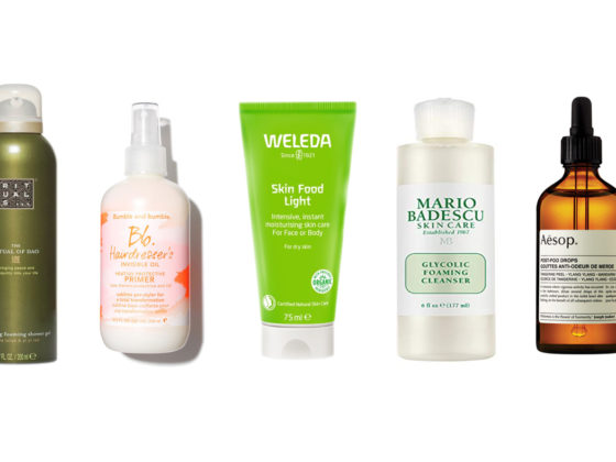 beauty essentials for autumn aesop bumble bumble mario badescu weleda rituals