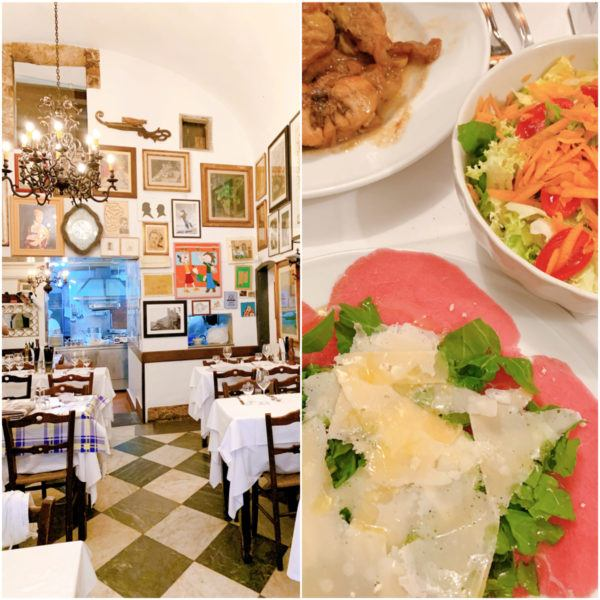 best lunch in florence city break trattoria camillo