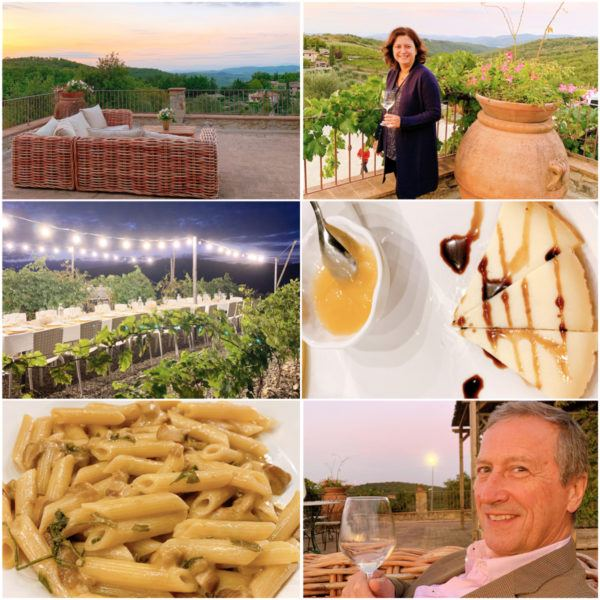 chianti wine tour vineyard dinner poggio amorelli an hour from florence