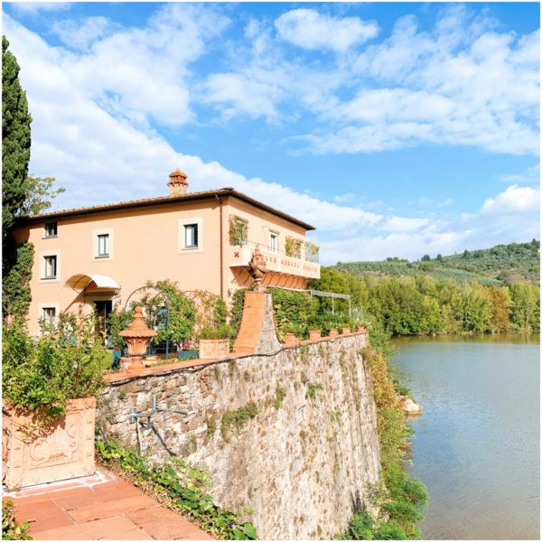 luxury hotel near florence villa la massa vila deste