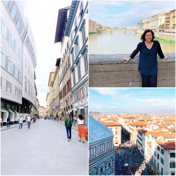 what to do in florence ponte vecchio Firenze view from duomo florence city break