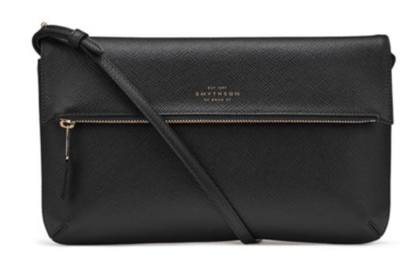 Smythson Panama Folded Crossbody Bag