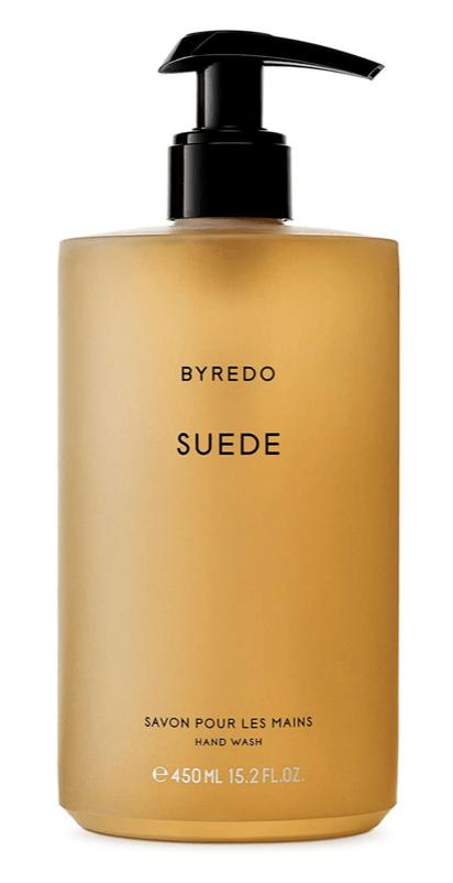 byredo handwash suede