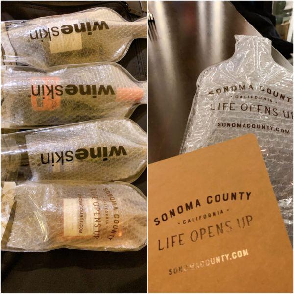 wine skin wine tasting sonoma county