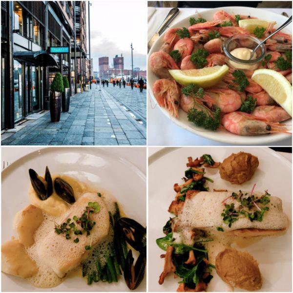 best fish restaurants in oslo lofoten prawns