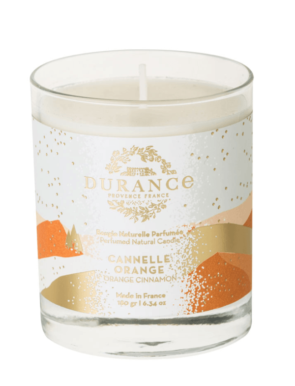 durance orange and cinammon cannele orange candle
