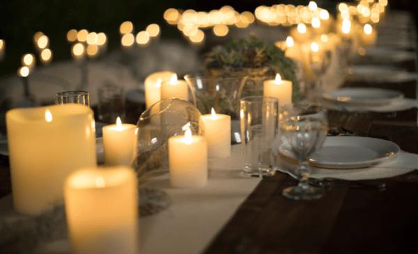 luminara flameless remote controlled tea lights