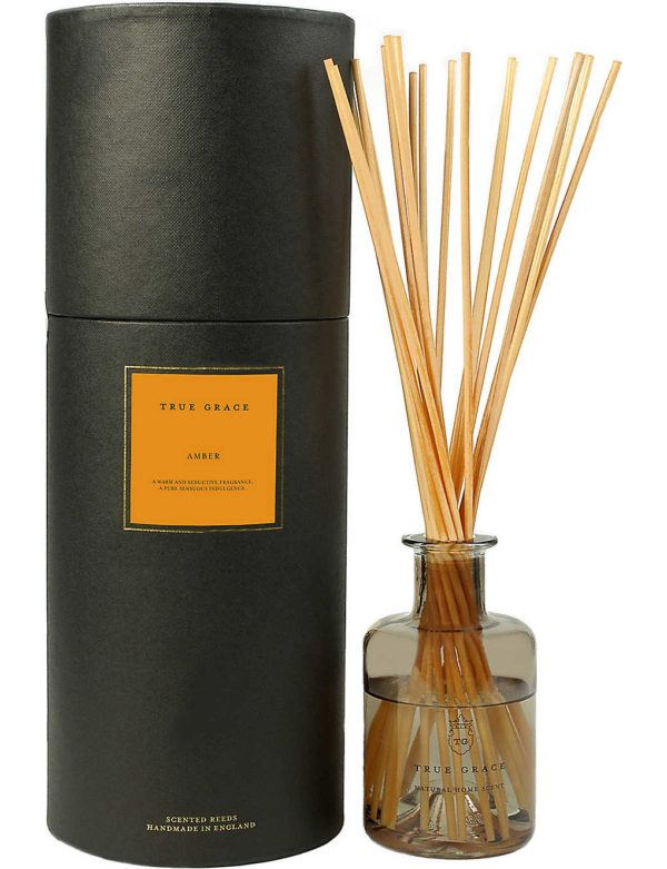 luxury home fragrance diffuser reeds true grace amber
