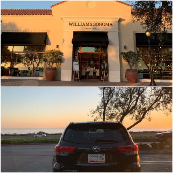 WILliams sonoma corona del mar hertz car rental