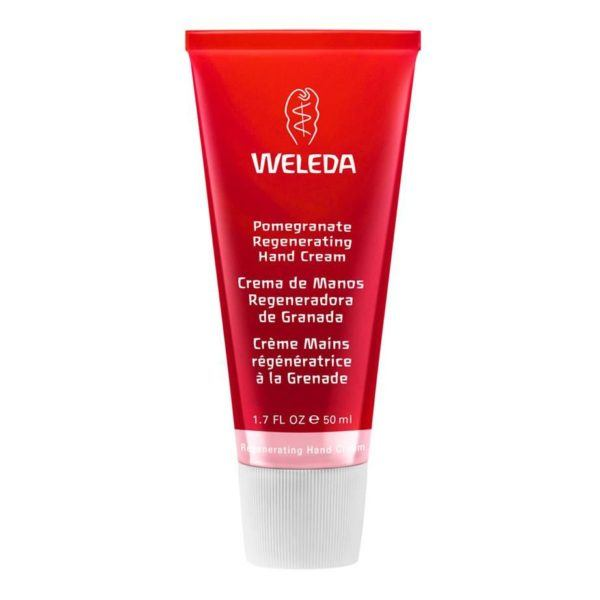 best hand cream weleda pomegranate anti ageing hand regenetating