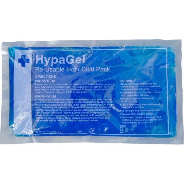 hypa gel reusable hold and cold pack