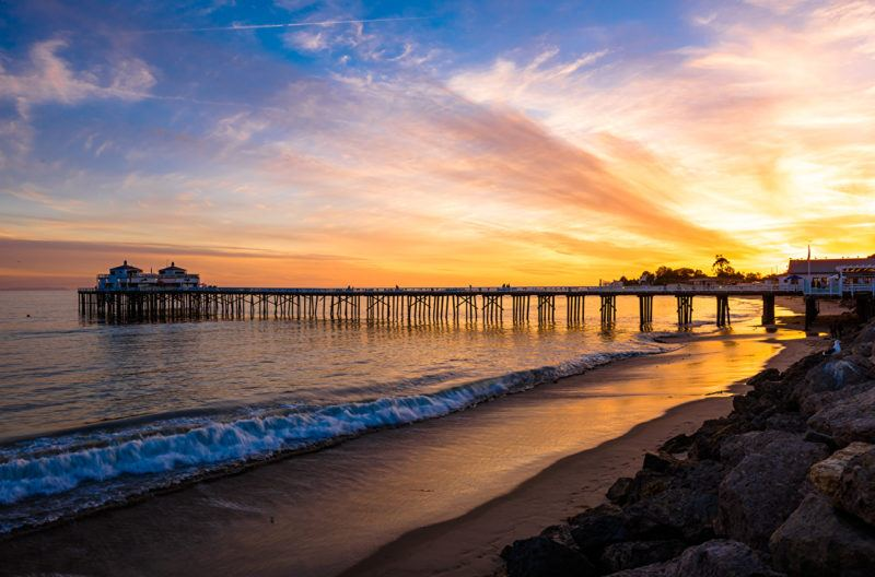 malibu beach inn best places in california