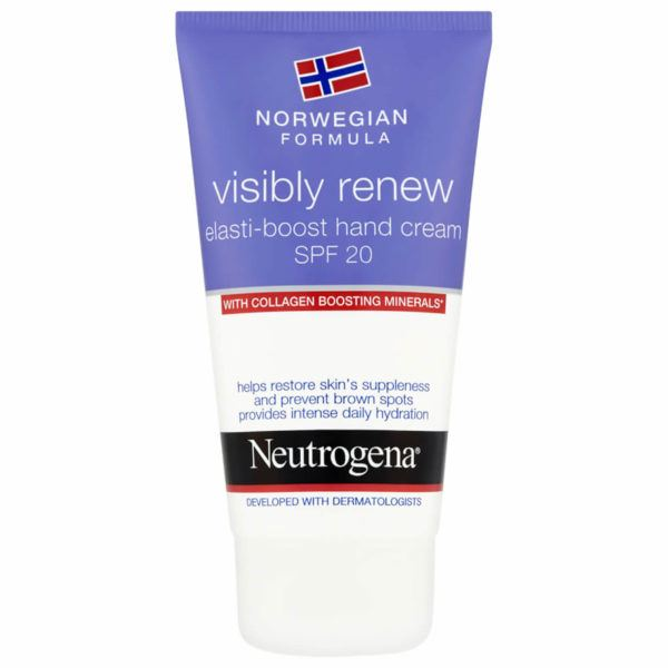 neutrogena visibly renew elasti boost hand cream