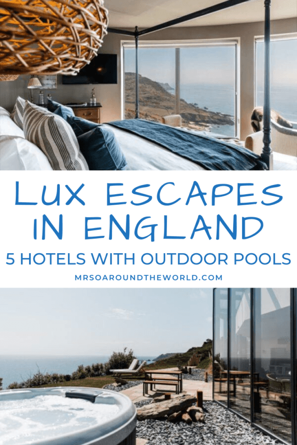 Luxury Hotels with Outdoor Pools in the UK