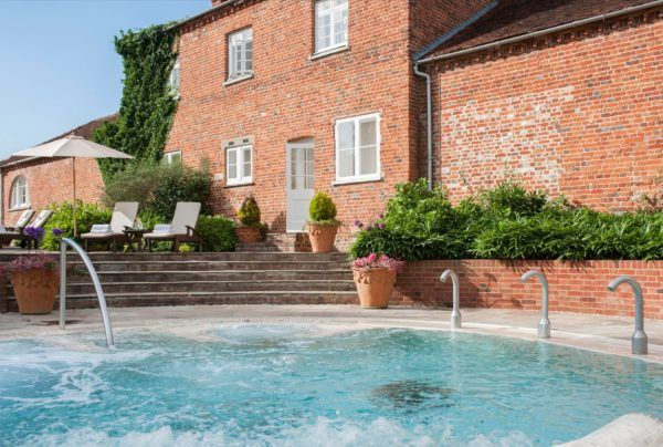 four seasons hampshire outdoor jacuzzi swimming pool uk luxury hotels