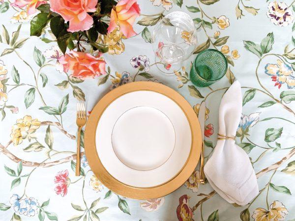 table settings wedgwood california gold vista alegre bicos