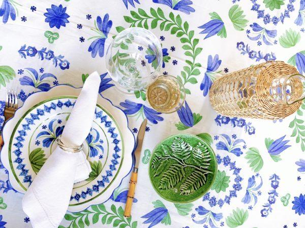 tabletop aerin for williams sonoma daylesford rattan glasses