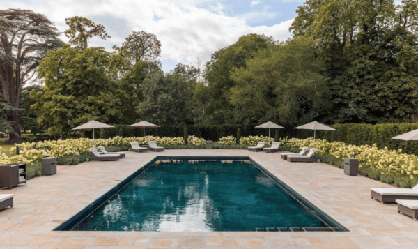 the langley luxury collection hotel outdoor pool