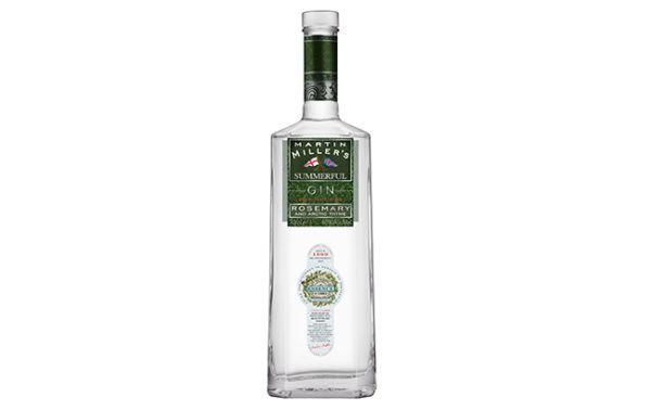 Summerful-Gin martin miller rosemary gin