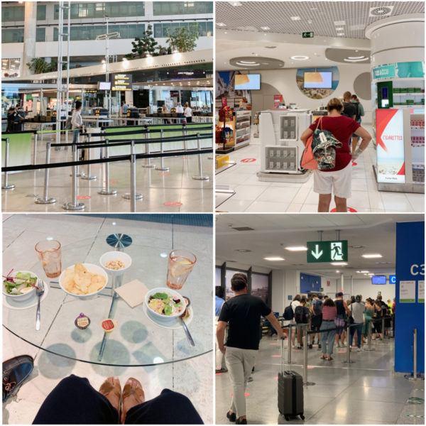 malaga airport british airways world duty free july 2020