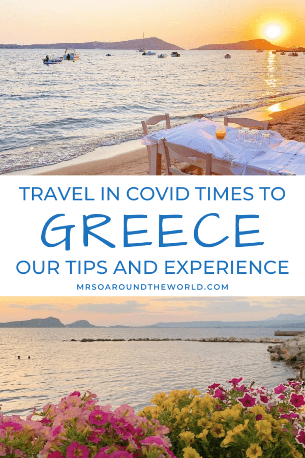 Travelling to Greece in Covid times