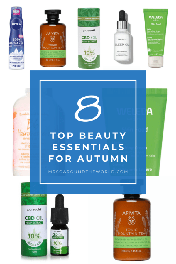 8 Top Beauty Essentials for Autumn