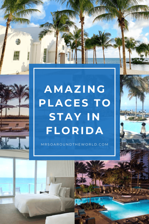 Best Places to Stay in Florida