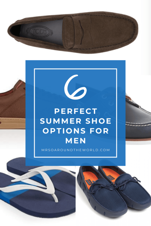 6 Perfect Summer Shoe Options for Men