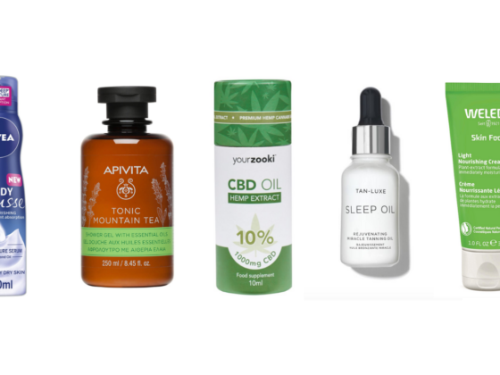 autumn beauty essentials cbd oil apivita weleda tan luxe