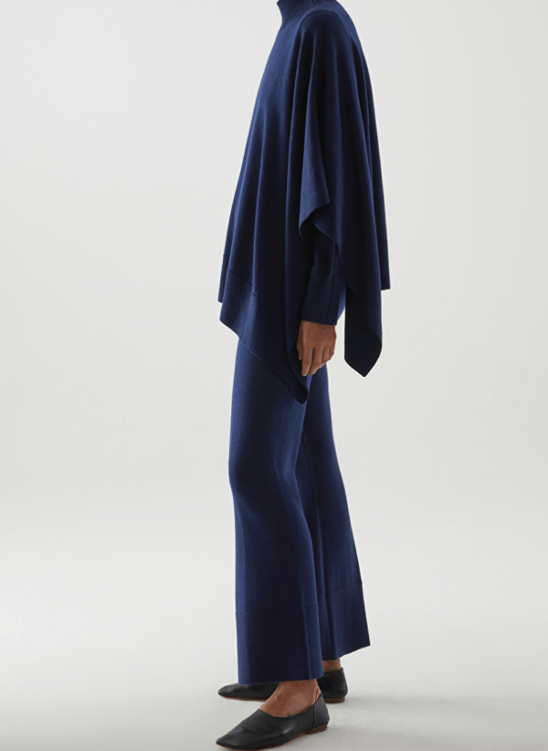 cos merino trousers and cape