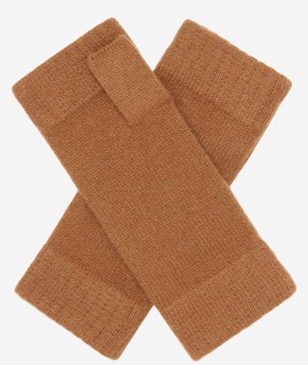 n peal UNISEX FINGERLESS CASHMERE GLOVES