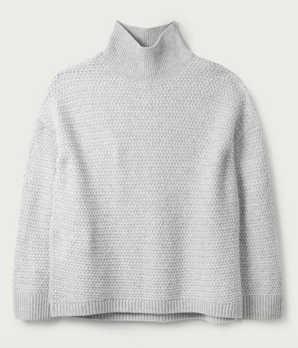 white company cashmere jumper