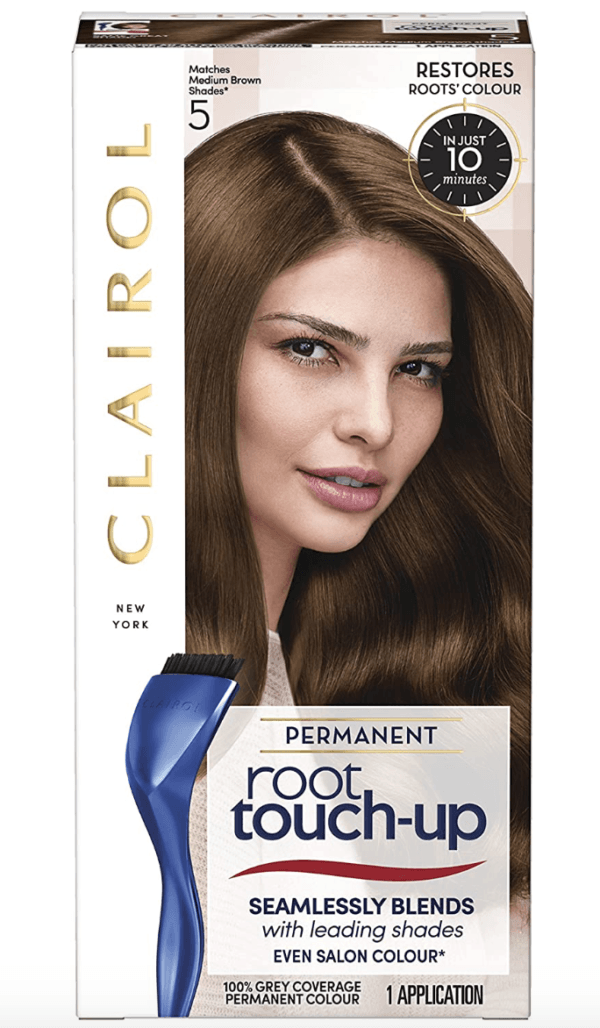 Clairol Root Touch-Up Permanent Hair Dye, 5 Medium Brown