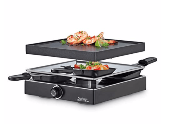 Spring Raclette with Aluminium Grill Plate KP3267297001 Raclette