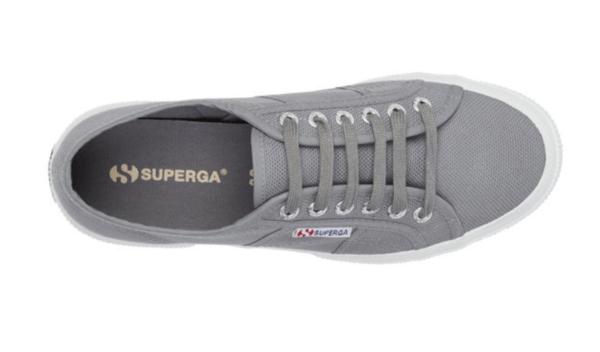 Superga Grey Cotu trainers
