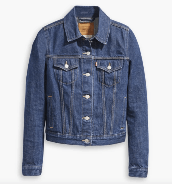 levis original denim trucker jacket soft as butter blue