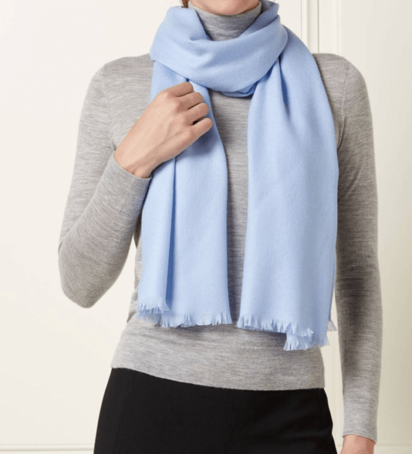 n peal cashmere stole