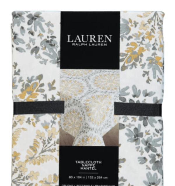 ralph lauren tablecloths