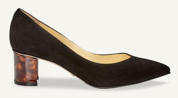 sarah flint perfect emma black suede shoes
