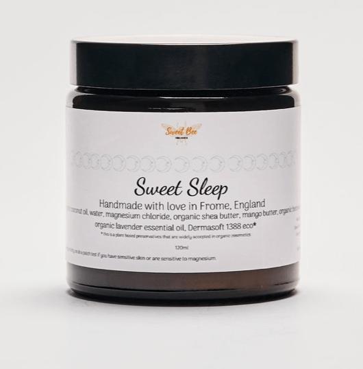 sweet bee organics magnesium sleep foot butter