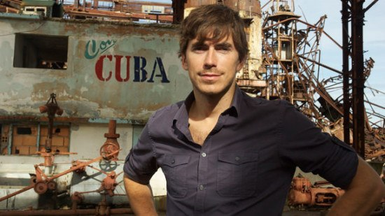 TV adventurer and presenter Simon Reeve