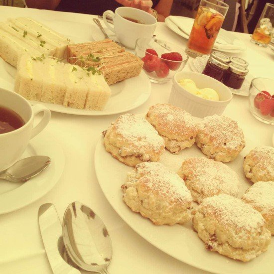 I love afternoon tea!
