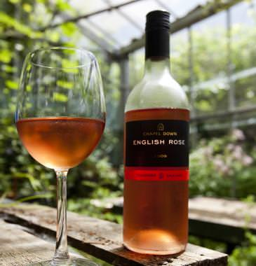 Chapel Down English Rose (not Rosé - I like the humour)