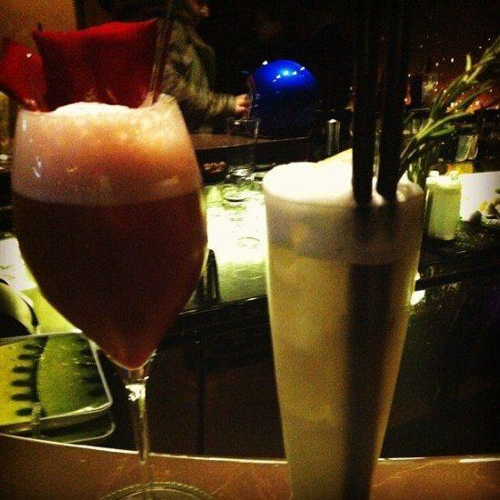Cocktails at Mandarin Oriental Paris